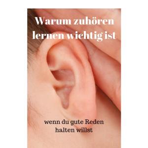 Warum zuhören lernen wichtig ist